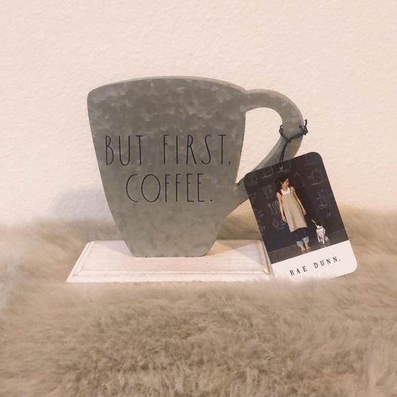 Rae Dunn Coffee Sign new